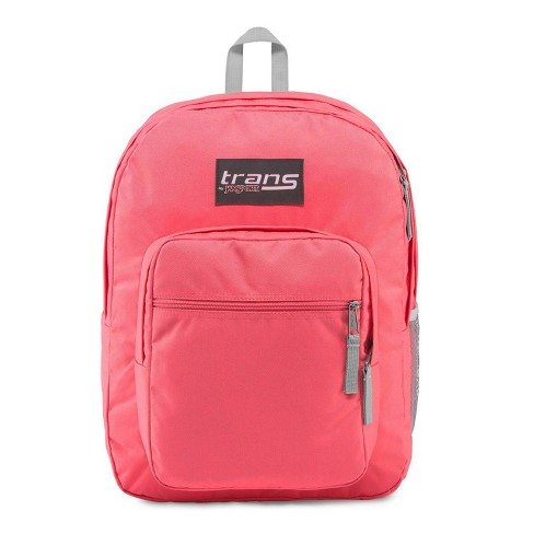 """Trans by JanSport 17"""" Supermax Backpack - Guava Pink - image 1 of 4"""