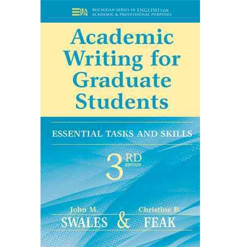 Academic Writing for Graduate Students : Essential Tasks and Skills -  (Paperback) - image 1 of 1