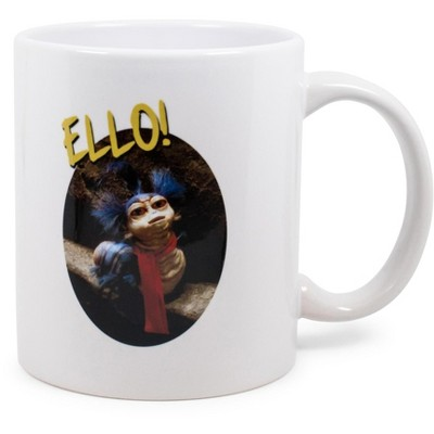 """Surreal Entertainment Labyrinth The Worm """"Ello"""" Ceramic Mug Exclusive   Holds 11 Ounces"""