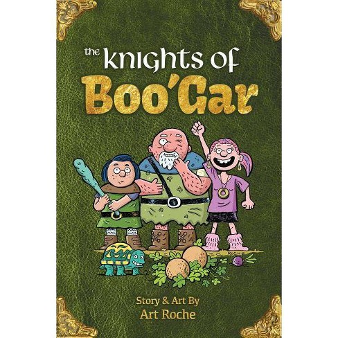 The Knights of Boo'gar - (Amp! Comics for Kids) by  Art Roche (Paperback) - image 1 of 1