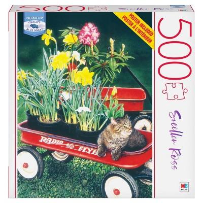Milton Bradley Blue Board: Spring Fever Jigsaw Puzzle - 500pc