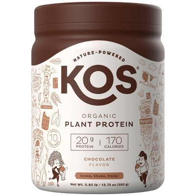 KOS Organic Vegan Protein Powder - Chocolate - 13.75oz