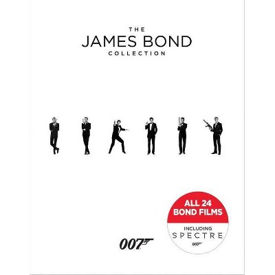 The James Bond 24 - Film Collection (Blu-ray)