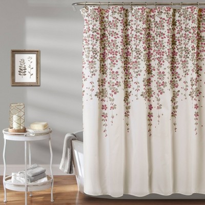 Weeping Flower Shower Curtain - Lush Décor