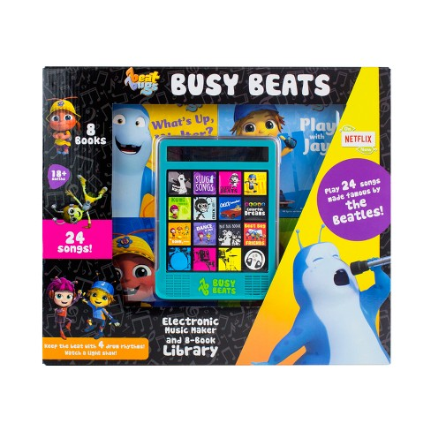 Beat Bugs Electronic Busy Beats Music Maker and 8-book Box Set - image 1 of 10