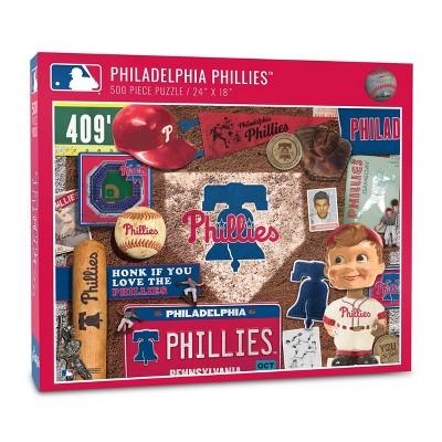 MLB Philadelphia Phillies 500pcs Throwback Puzzle