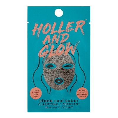 Holler And Glow Stone Coal Purifiant Facial Treatments   .57 Fl Oz by .57 Fl Oz