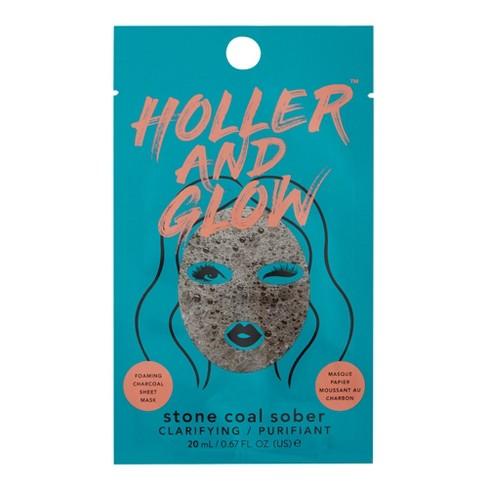 Holler and Glow Stone Coal Purifiant Facial Treatments - .57 fl oz - image 1 of 4