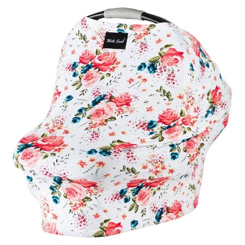 Milk Snob Multifunctional Cover- French Floral - image 1 of 3