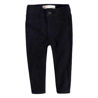 Levi's® Baby Girls' Pull-On Leggings - Black 6M