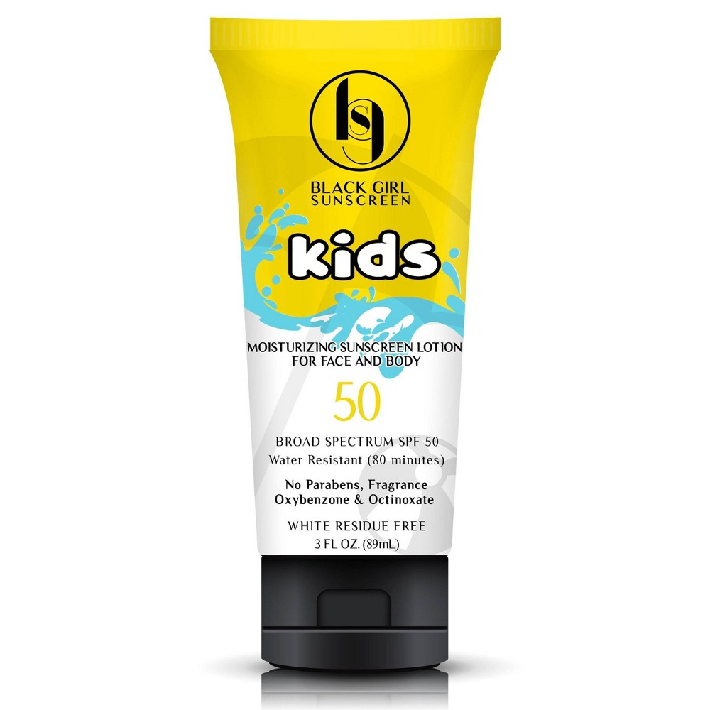 Image of Black Girl Sunscreen Kids Broad Spectrum - SPF 50 - 3 fl oz