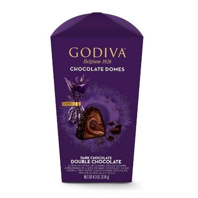 Godiva Double Chocolate Domes - 4.3oz