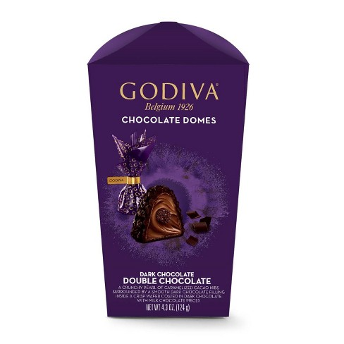 Godiva Double Chocolate Domes - 4.3oz - image 1 of 4