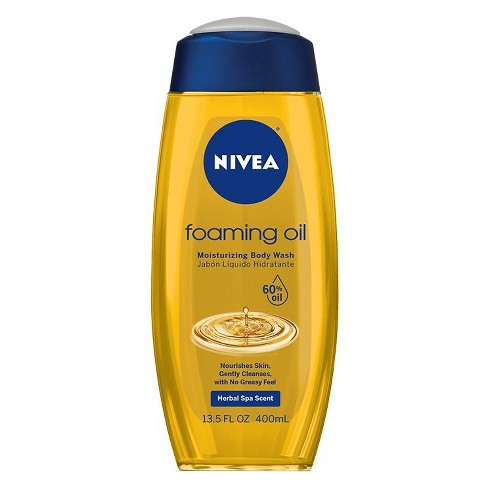 NIVEA Foaming Oil Body Wash - 13.5oz - image 1 of 4