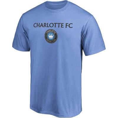 MLS Charlotte FC Men's Short Sleeve Crew Neck Core T-Shirt