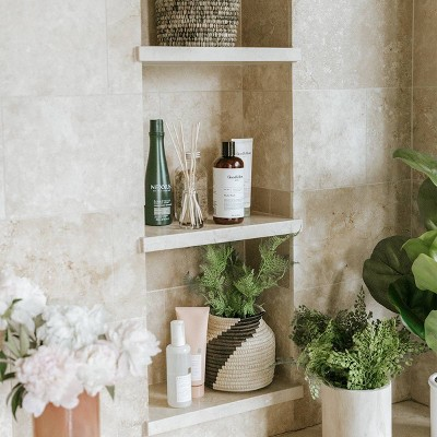 Bohemian Spa Bathroom Collection Styled by Camille Styles