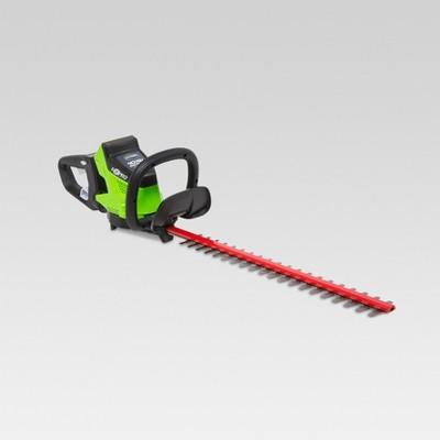 40V Brushless Hedge Trimmer - Electric Lime - GreenWorks