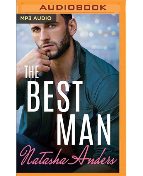 Best Man -  (Alpha Men) by Natasha Anders (MP3-CD) - image 1 of 1