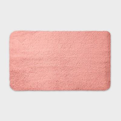 "20""x34"" Performance Nylon Bath Rug Coral - Threshold™"