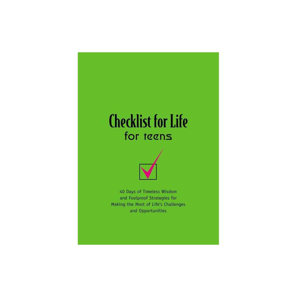 Checklist For Life For Teens Paperback