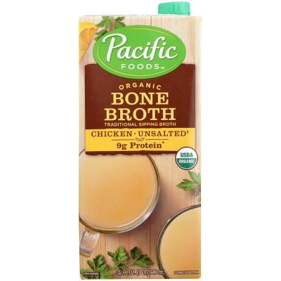 Broths: Pacific Foods Organic Bone Broth