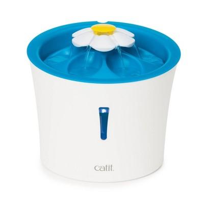 Catit Flower Fountain with LED Nightlight - Blue