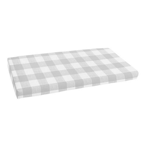 18 X 55 Anderson Indoor Outdoor Bench Cushion Bristol Sea Salt Gray Sorra Home Target