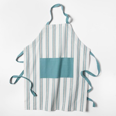 Stripe Apron Aqua - Threshold™