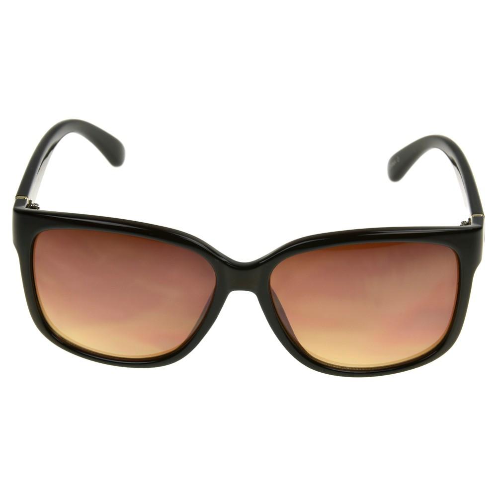 Women 39 S Square Sunglasses A New Day 8482 Brown