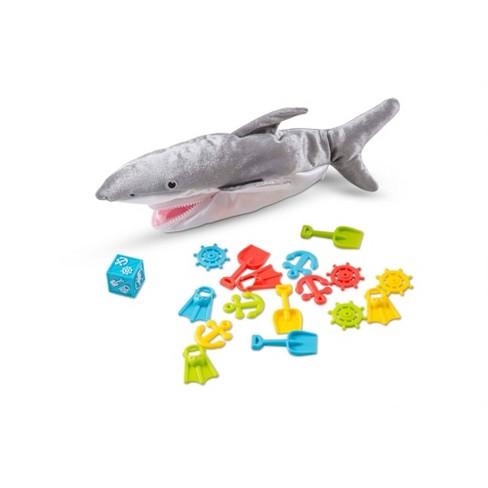Melissa & Doug Shark Bait Game With Zippered Plush Shark - image 1 of 4