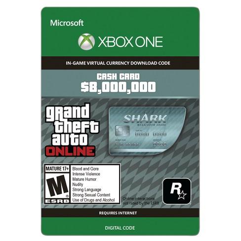 gta v shark card xbox store