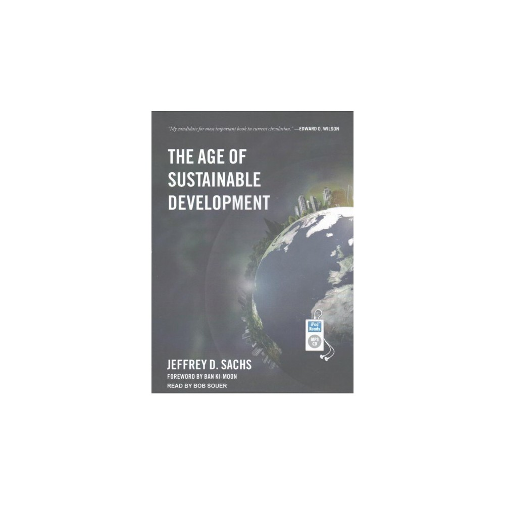 Age of Sustainable Development (MP3-CD) (Jeffrey D. Sachs)