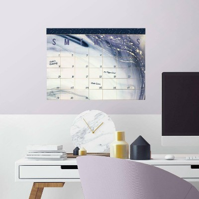 Celestial Sister Dry Erase Calendar Peel and Stick Giant Wall Decal - RoomMates