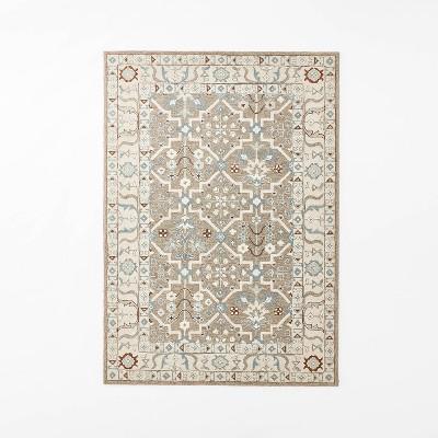 Tufted Persian Mushroom Rug Beige - Threshold™ designed with Studio McGee