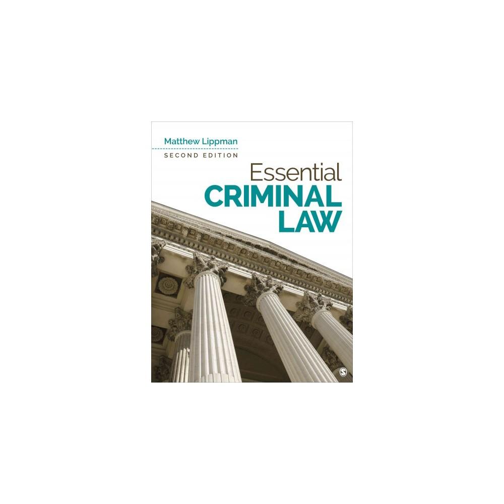 Essential Criminal Law (Paperback) (Matthew Lippman)