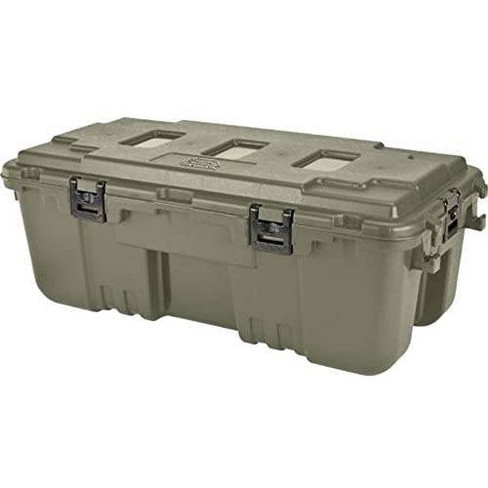 Plano 108qt Storage Trunk Green - image 1 of 4