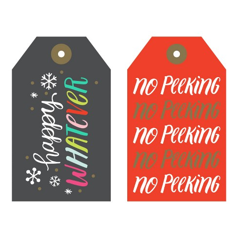 Paper Riot Co. 4ct Whatever Gift Tags - image 1 of 1