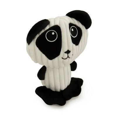TrustyPup Silent Squeak Big Head Panda Dog Toy - M