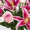 Colour Republic Light Pink Garden Rose Bouquet - image 3 of 4