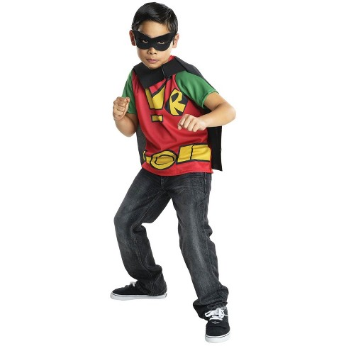 Robin Kids' Halloween Costume Top - Rubie's - image 1 of 1