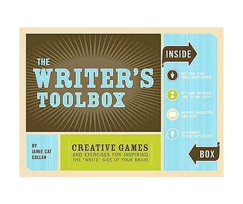 "Writer's Toolbox : Creative Games and Exercises for Inspiring The ""Write"" Side of Your Brain (Hardcover) - image 1 of 1"