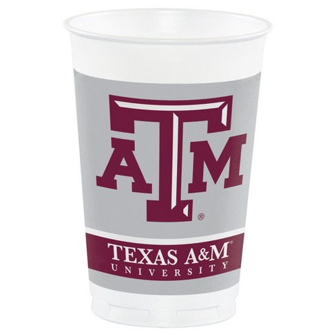 8ct Texas A&M Aggies Plastic Cups - image 1 of 1