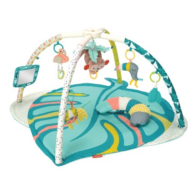 GaGa Deluxe Twist & Fold Tropical Activity Gym & Play Mat