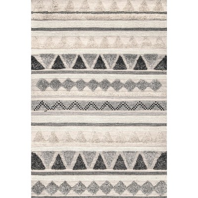 nuLOOM Hand Woven Global Mildred Area Rug