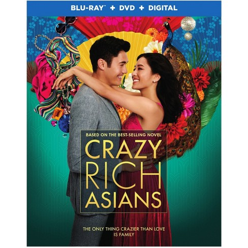 Crazy Rich Asians (Blu-Ray + DVD +Digital) - image 1 of 1