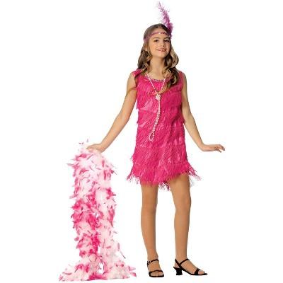 Franco Hot Pink Flapper Child Costume