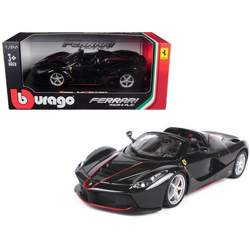 Ferrari Laferrari F70 Aperta Black 1 24 Diecast Model Car By Bburago Target