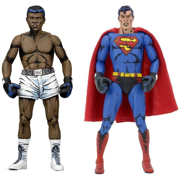 "Muhammad Ali vs. Superman 7"" Action Figure 2 Pack - image 1 of 3"