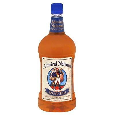 Admiral Nelson's Spiced Rum - 1.75L Plastic Bottle