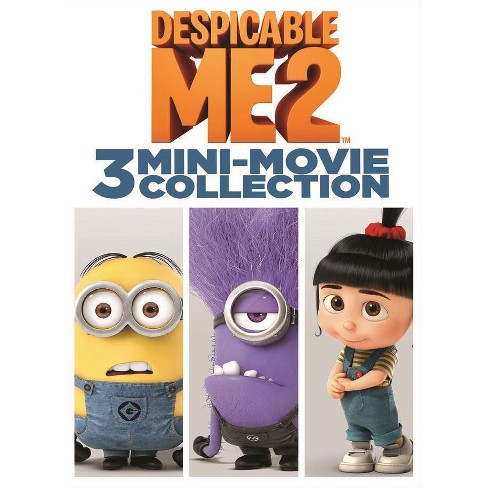 Despicable Me 2: 3 Mini-Movie Collection (DVD) - image 1 of 1